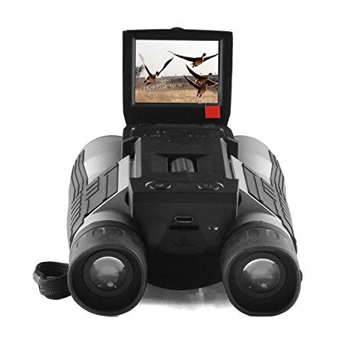 Gemtune FHD Fernglas Digitalkamera Teleskop Digital Camera Binoculars with Folding Prism hohe Auflösung