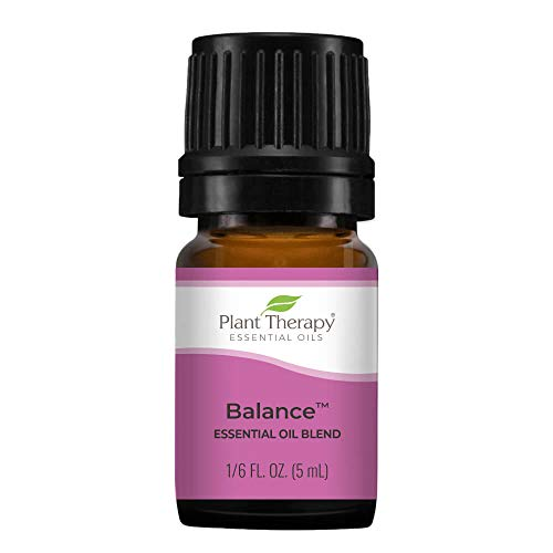 Plant Therapy Balance Essential Oil Blend 5 mL (1/6 oz) 100% Pure, Undiluted, Therapeutic Grade