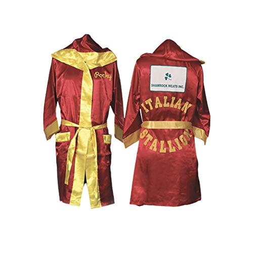 Rocky Balbo rot Movie Italian Stallion Boxing Robe
