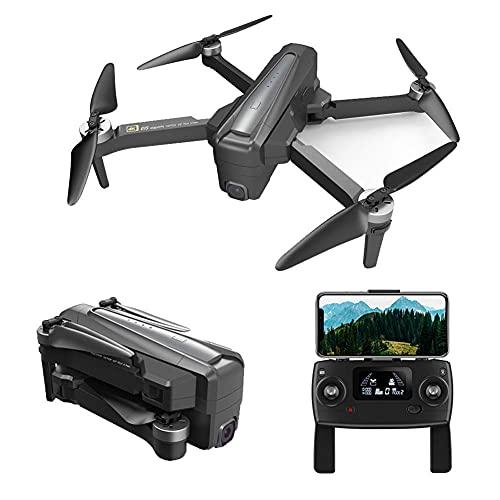 Drone con videocamera 4K HD per bambini, adulti e principianti, quadricottero pieghevole con video live FPV grandangolare, volo traiettoria, controllo app, flusso ottico, mantenimento dell'altitudin