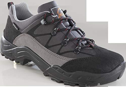 Jacalu Trekkingschuh Farbe grau mit schwarz abgesetzt, Gr.44