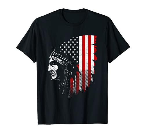 Camiseta india americana nativa Camiseta
