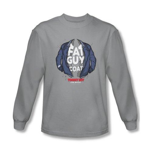 Tommy Boy - - Petit manteau shirt manches longues Homme en Argent, Large, Silver