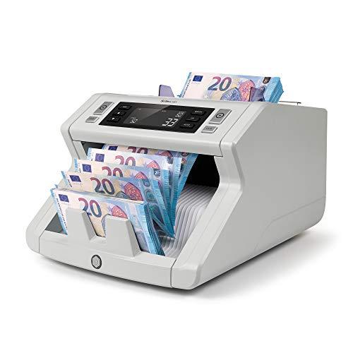 Safescan 2210 - Compteuse de billets pour les billets triés avec détection des faux billets sur 2 points