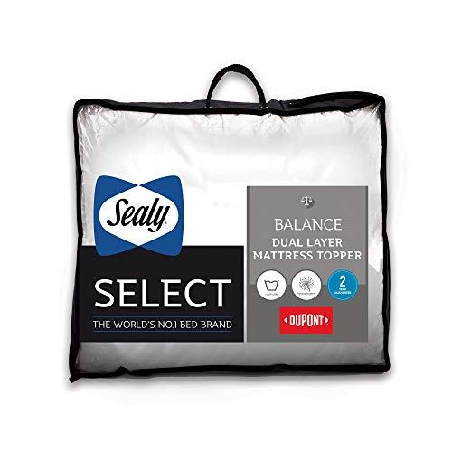 Sealy Select Balance Dual Layer Matratzenauflage, weiß, Super King