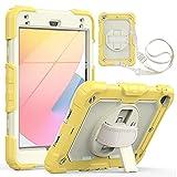 SZCINSEN Étui pour tablette iPad Mini 4/5 3 couches résistant aux chocs et aux chutes, avec...
