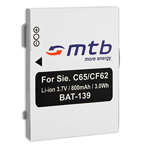 Ersatz-Akku EBA-760 für Siemens C65, C72, C75 / Siemens CF75, CT65, CX65, CX70 / M2 (EX), M3 / M65, M75, S65. - s. Liste