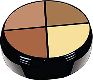 4 color contouring and concealer wheel