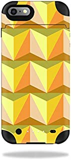 MightySkins Protective Vinyl Skin Decal Compatible with Mophie Juice Pack iPhone 6 Plus wrap Cover Sticker Skins Angle Orange
