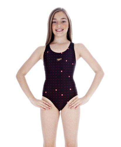 Acte (TMI) Speedo HydroFin - Bañador para niña