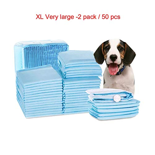 Pet Training Pads, Pet Products Grote Puppy Training Pads Toilet Trainer, Club Pet Training En Puppy Pads, Extra Large 60x90cm / 50 Stuks
