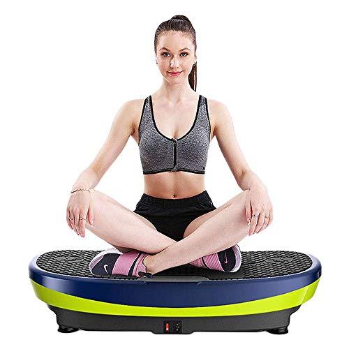 WEWE Vibrationsplatte - Fitness Oszillierende Vibrationsplattform - 3 Auto-Modi zum Abnehmen - Übungsbereiche (Walk-Jogging-Running) - 2 Jahre Garantie
