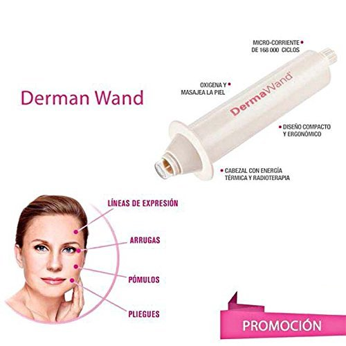 MOHAK Deluxe Skin Quench Derma Vital Skincare Products With Makeup Bag - Derma Wand For Wrinkles | Puffy Eyes | Saggy Skin | Non-Surgical Face Lift | High Frequency Machine