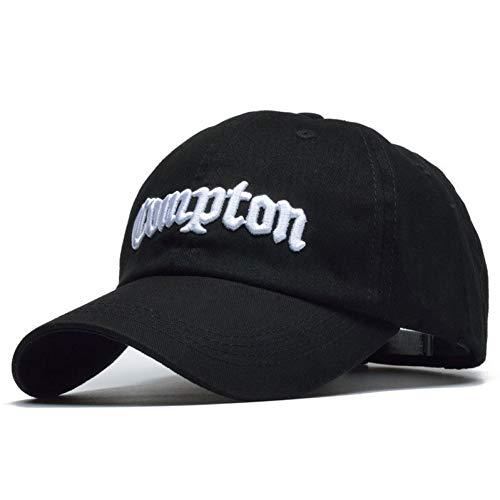 MAOZIJIE Hohe Qualität Compton Baseball Caps Für Männer Frauen Baumwolle Compton Hüte Hip Hop Bone An
