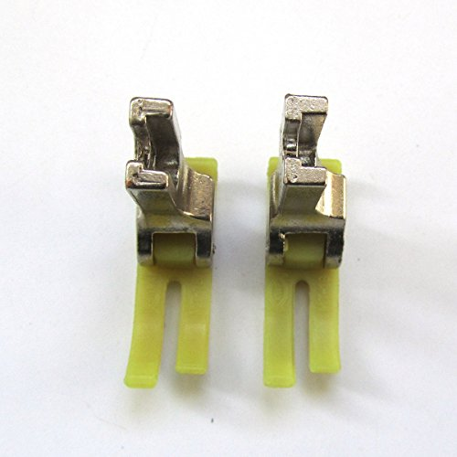 CKPSMS Marca -2 PZAS # MT18 Prensatelas industrial grande para máquina de coser compatible con JUKI DLM-522,DLM-5200,DLM-5400,Brother 757,760,767,781,791,Singer 95,96,120u,121c,121D