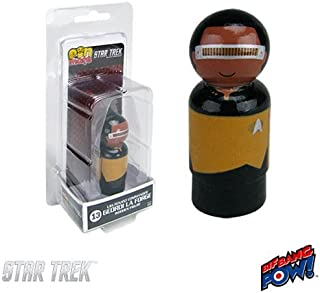Bif Bang Pow! Star Trek: TNG La Forge Pin Mate Wooden Figure