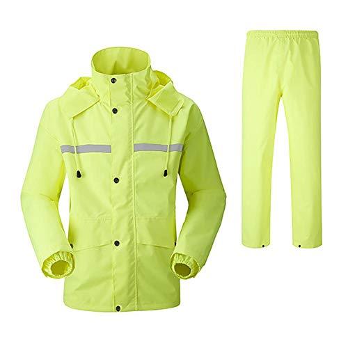 Demarkt Erwachsenen Regenjacke Arbeit Regenanzug Wasserdicht Atmungsaktiv Regenbekleidung