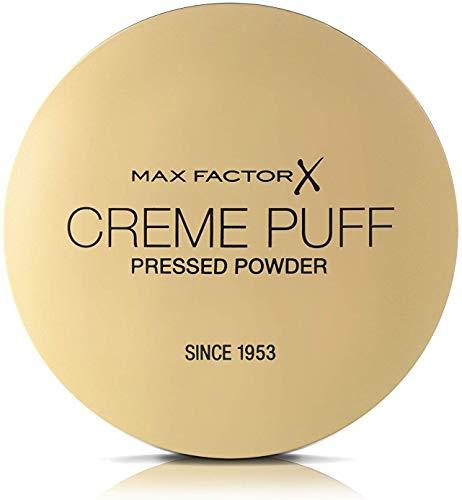 2 x Max Factor Creme Puff Face Puder 21g Neu & Sealed - 42 Deep Beige