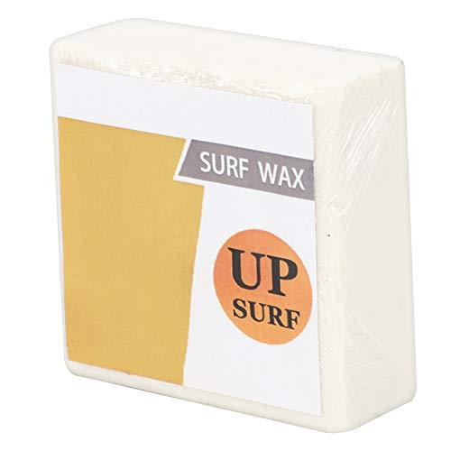 Keenso Cera Antideslizante para Tabla de Surf, Herramienta de Surf de Cera Profesional para Surf, Cuadrada Transparente Blanca como la Leche(Cold Wax)