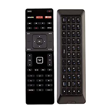vizio remote keyboard