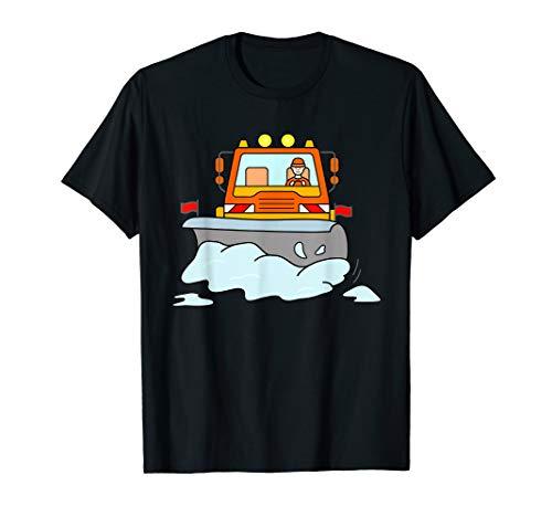 Schneeraupe Schneeräumer Schnee Räumfahrzeug Winterdienst T-Shirt