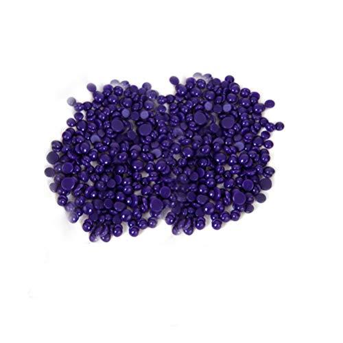 ROSENICE Épilation sans douleur 100g Sans bande Perle épilée perlée perle dure (Violet)