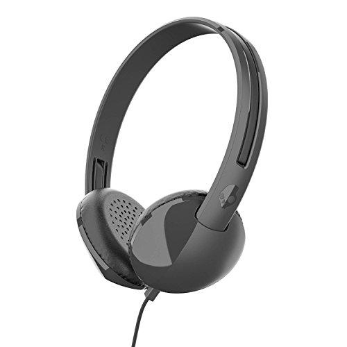 Skullcandy S2LHY-K576 Stim On-Ear Headphone with Mic (Black/Charcoal)