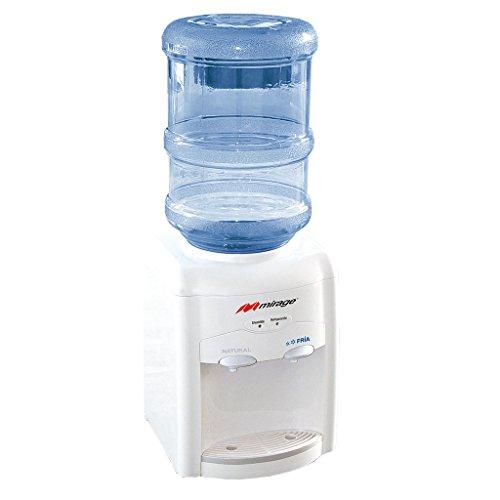 Dispensador Sobre mesa de Agua Fria (10°C) y templada para garrafon MIRAGE Disx05
