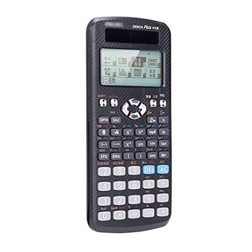 calculadoras Calculadora CIENTÍFICA Contador 498 Funciones 2 Línea Pantalla LCD para Oficina De Negocios Ingeniería Física Ingeniería Calculadoras Básicas (Color : 1pcs)