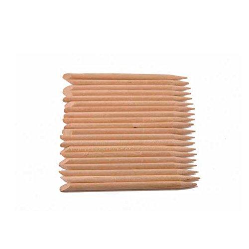 Aurore Beauté - 20 Repousses cuticules en bois