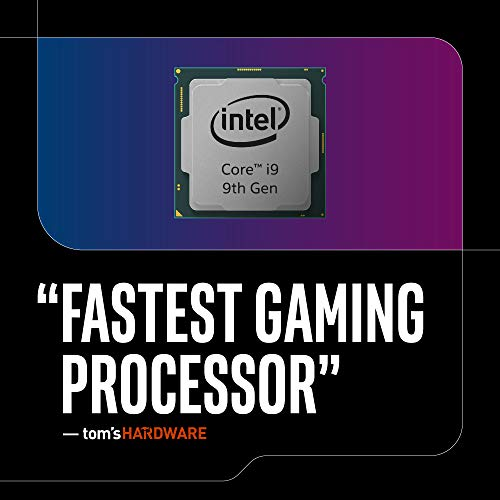 Intel Core i9-9900K Desktop Processor 8 Core   s up to 5.0 GHz Turbo unlocked LGA1151 300 Series 95W