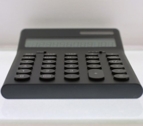 計算機M(±0プラスマイナスゼロ)ブラック