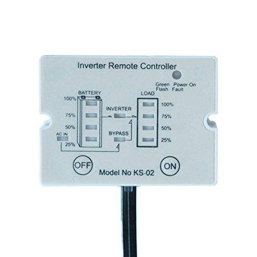 Fernbedienung für Wechselrichter mit Ladestandsanzeige KS02