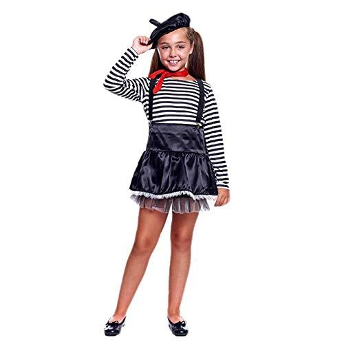 Disfraz Mimo Niña (3-4 años) (+ Tallas) Carnaval Profesiones ...