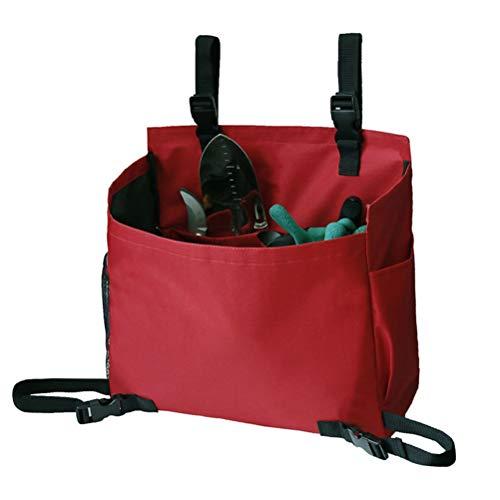 Bolsa de almacenamiento para herramientas de jardinería, para cortacésped de empuje, bolsa de almacenamiento para jardín y plantas, organizador para interiores y exteriores