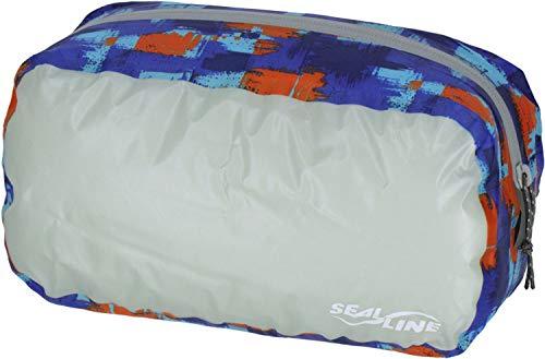 SealLine Blocker Zip Sack Water-Resistant Travel Kit, Blue Camo, Medium