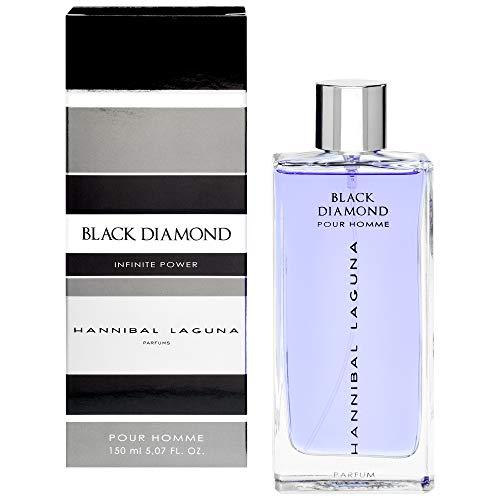 HANNIBAL LAGUNA colonia black diamond spray 150 ml