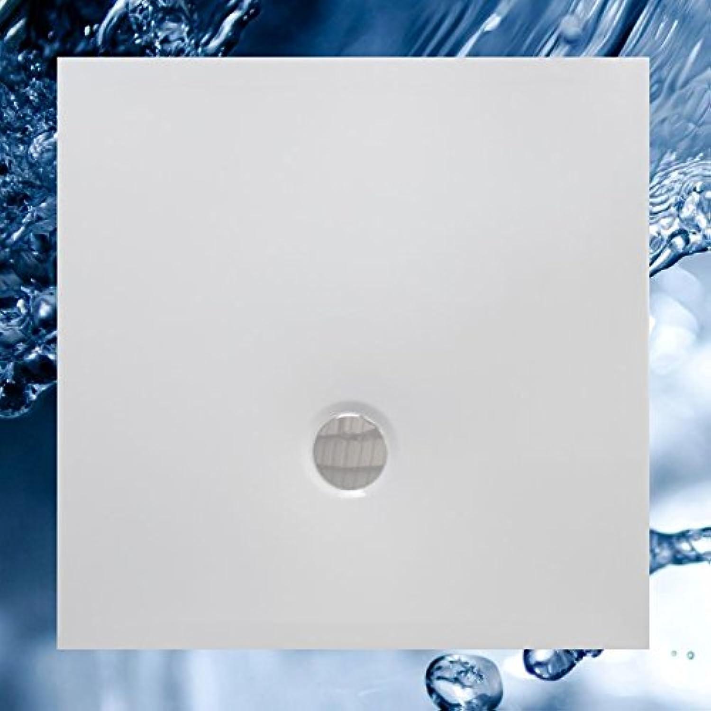Duschbecken 1000x1000 mm Flat Duschwanne 100x100 cm superflach ohne Rand