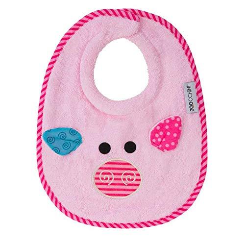 Zoocchini Bavaglino Baby - Morbido Bavaglino in Cotone Anti Saliva per Neonati