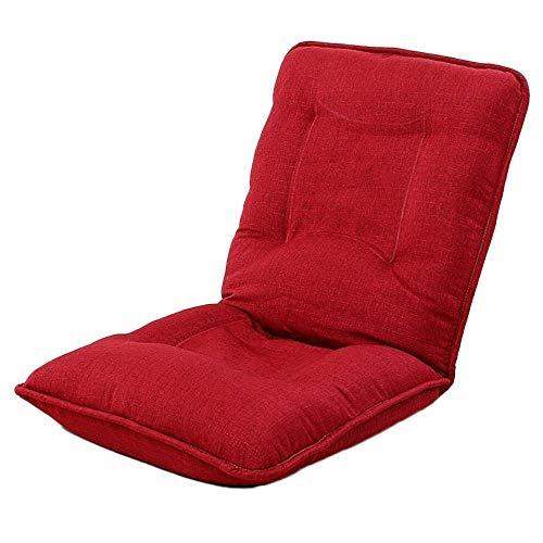 Wtbew-U meditatiestoelen, opvouwbare luie slaapbank rugleuning stoel computer woonkamer balkon sofa stoel 110 * 52 cm
