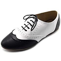 Retro Oxfords Shoes