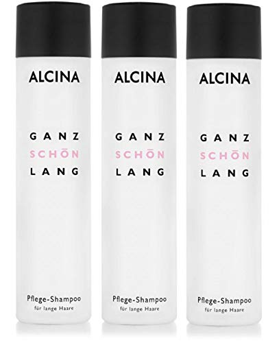 3er Haar Pflege Shampoo Alcina Ganz Schön Lang 250 ml