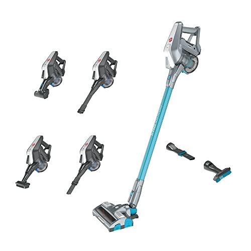 Hoover H-FREE 300 Hydro, HF322YHM Akku-Staubsauger, 3 in 1, Saugen & Wischen, Bis zu 40 Min., beutellos, freistehend, Dual-LED-Beleuchtung, Direkt-Impuls-Motor, Schnellladen in nur 2,5 Std
