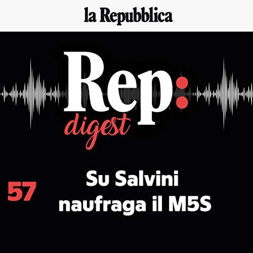 Couverture de Su Salvini naufraga il M5s