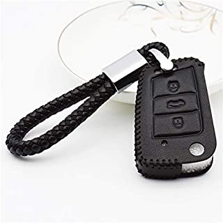 Leather Car Key Case Cover for Seat Ibiza Leon 2 FR Mk3 Cupra Ateca Altea for