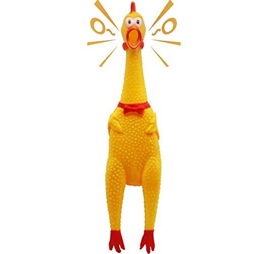 Neuheit Platz [Extra Load] Squawking Chicken Hundespielzeug - Large 16