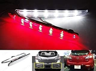 LEDIN BBM4515L0C OEM Replacement Mazda3 BL Axela CLEAR Lens Rear Bumper Reflector LED Backup Tail Brake Light