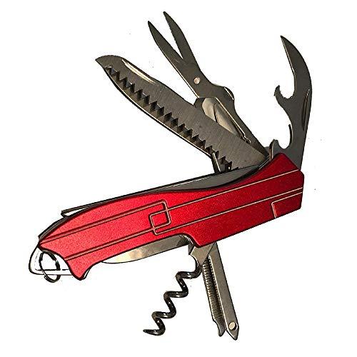 Virtue Retail Swiss Style - Cuchillo multiherramienta para destornillador de corcho, tijeras de lima