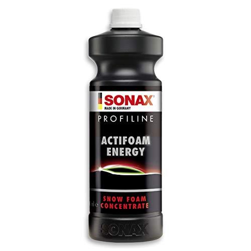 SONAX PROFILINE ActiFoam Energy (1 Litro) - potente detergente, scioglie lo sporco con elevato potere schiumogeno. Piacevole profumazione | Art. N. 06183000