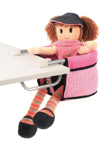 Bayer Chic 2000 735 46 - Puppen-Tischsitz, pink Checker